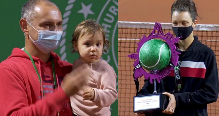 Patricia Tig gana su primer título WTA tras vencer a Bouchard en Estambul