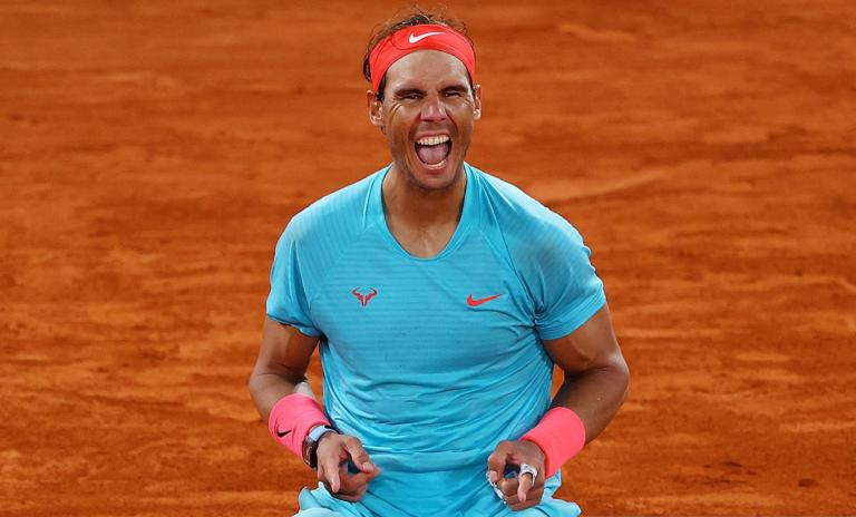 [VIDEO] El punto que le dio a Rafael Nadal el 20º título de Grand Slam