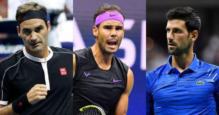 Grand Slam: finales a las que el Big Three ha llegado sin perder un set