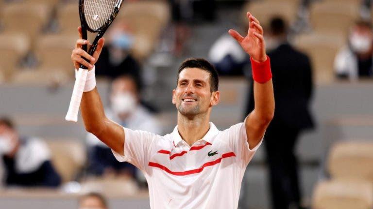 Djokovic se une a Federer: suma su victoria nº 70 en Roland Garros