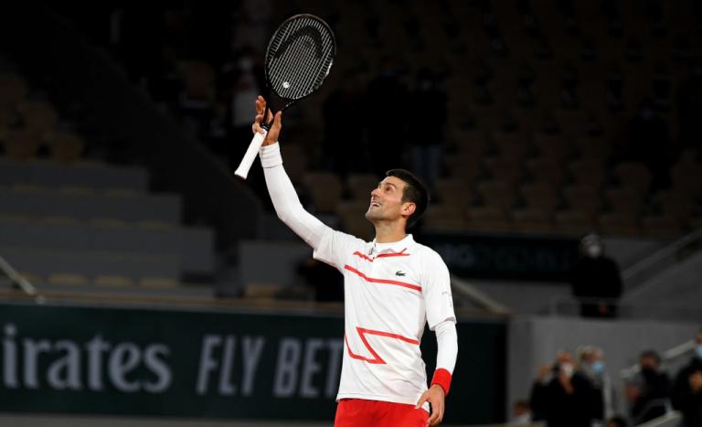 Novak Djokovic continúa invencible en Roland Garros