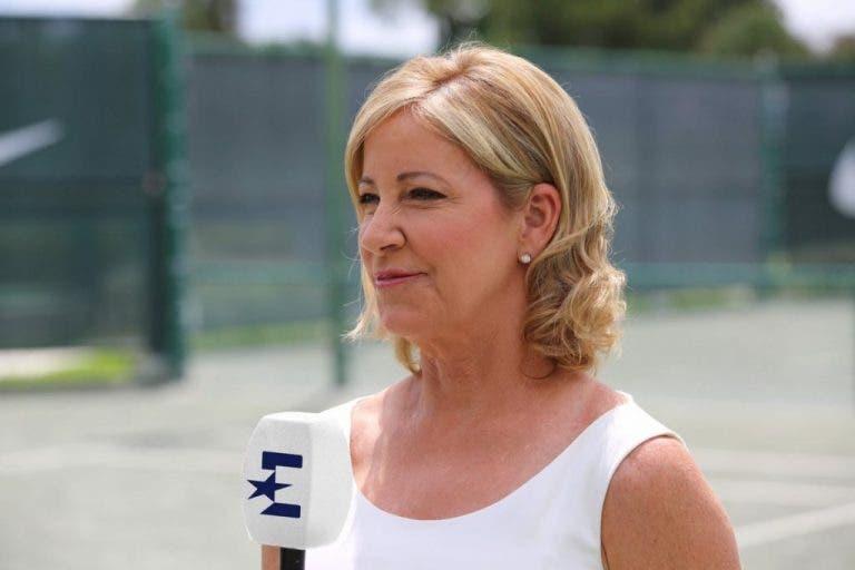 Evert cree que en su época era más fácil llegar a semifinales de Grand Slam