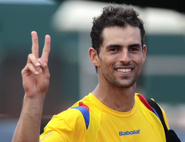El tenista colombiano, Santiago Giraldo, se retira del tenis profesional
