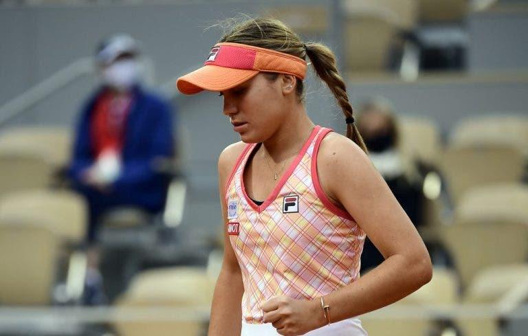 Kenin analiza su juego ante Swiatek en la final de Roland Garros
