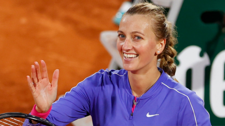Kvitova y Ferro vencen, mientras que Ostapenko cae en Roland Garros