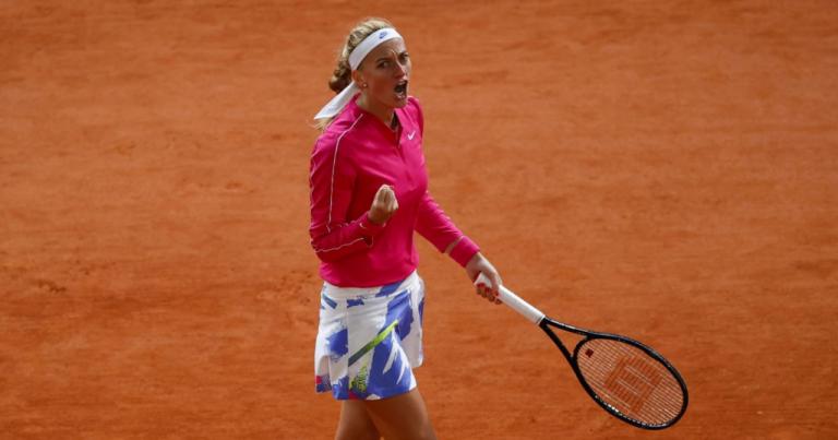 Luego de 8 años, Kvitova vuelve a los cuartos de final de Roland Garros