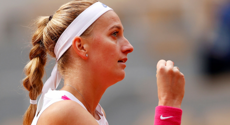 Petra Kvitova alcanza las semifinales de Roland Garros