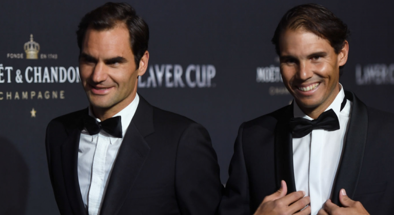Rafael Nadal habla sobre romper los récords de Roger Federer