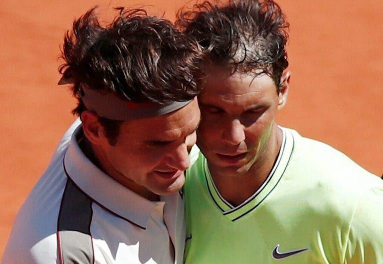 Nadal y las palabras de Federer: «Para mi significa mucho la relación que tenemos»