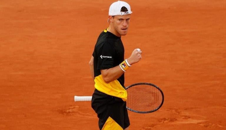 Schwartzman, sin perder sets, está en los 'cuartos' de Roland Garros