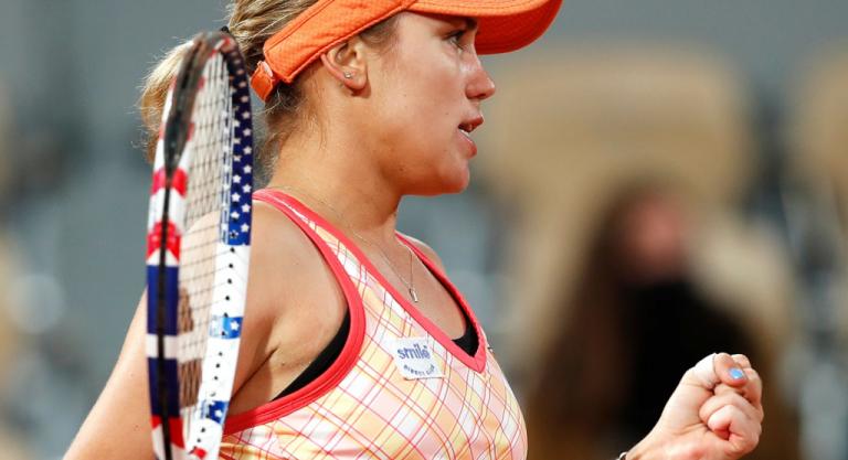 Sofia Kenin llega por 1ª vez a los cuartos de final de Roland Garros
