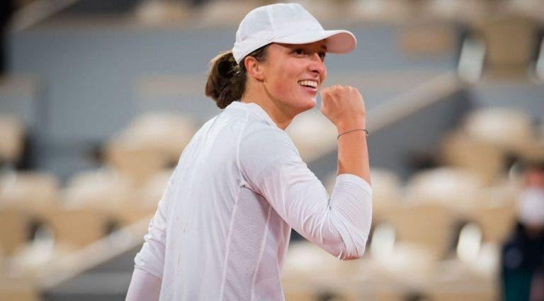 Swiatek confiaba en que podría ganar Grand Slams