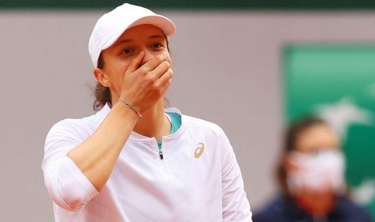 Swiatek ante su victoria en Roland Garros: «Ni siquiera sé qué decir»