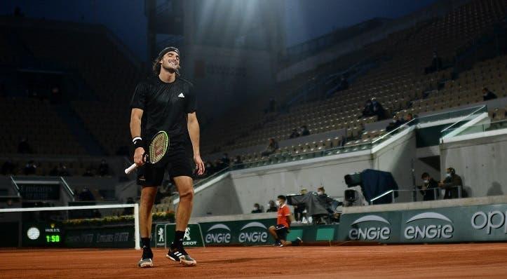 Tsitsipas revela qué sucedió en el quinto set ante Djokovic