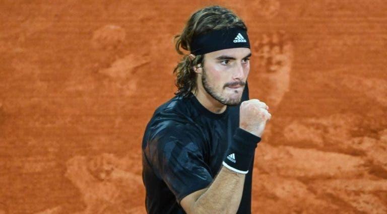 Stefanos Tsitsipas alcanza las semifinales de Roland Garros