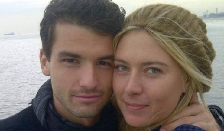 """Dimitrov sigue siendo amigo de su """"ex"""" Sharapova: «Me gustaría contarte más»"""