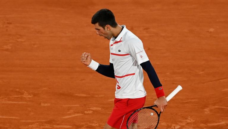 Djokovic pierde el 1º set pero avanza a las semifinales de Roland Garros