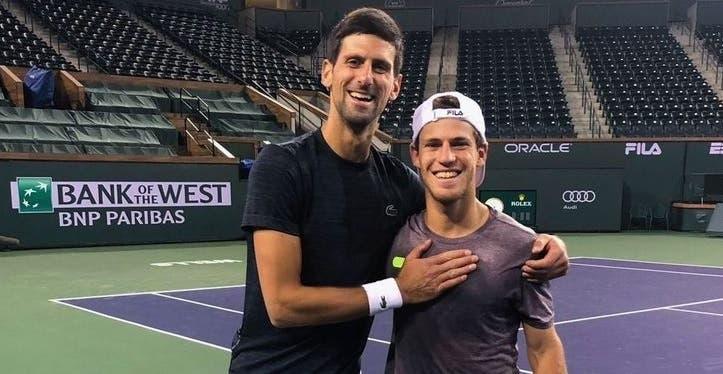 Djokovic: «Todo el mundo ama a Schwartzman. Estoy orgulloso de él»