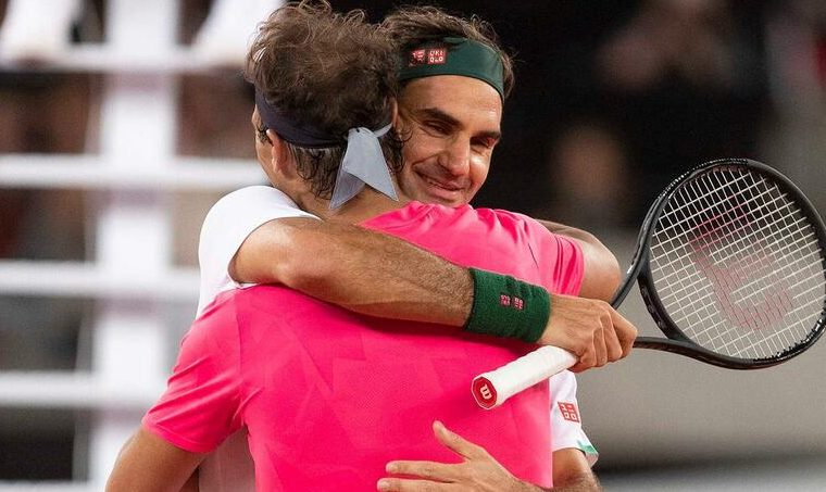 Federer reacciona al 20º Grand Slam de Nadal con un emotivo mensaje