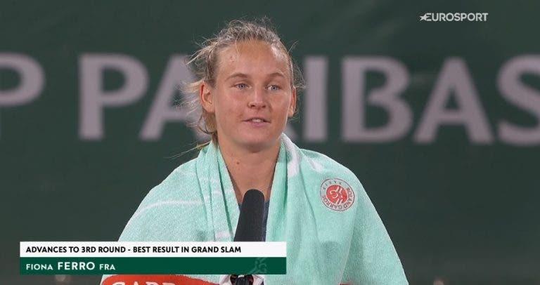 Ferro: 17 victorias consecutivas y ya está en la 3ª ronda de Roland Garros