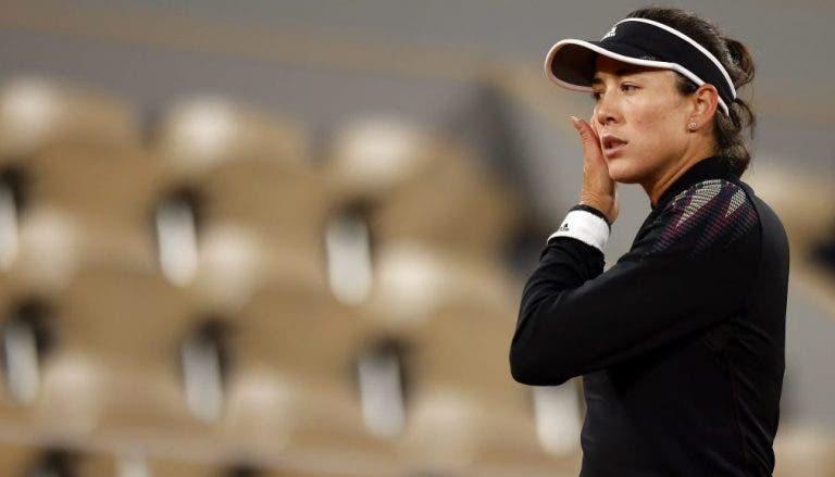 Garbiñe Muguruza cae en la 3ª ronda de Roland Garros