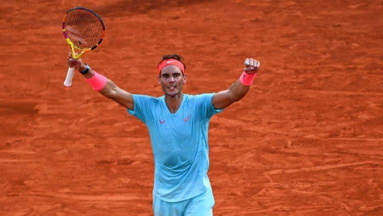 Nadal busca igualar el récord de Roger Federer este domingo