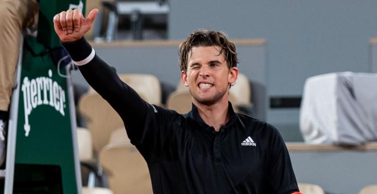 Thiem sufre pero sobrevive para meterse a los 'cuartos' de Roland Garros