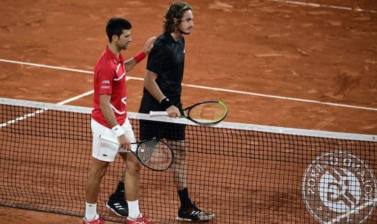 Tsitsipas: «Hay momentos que parece que Djokovic alcanza la perfección»