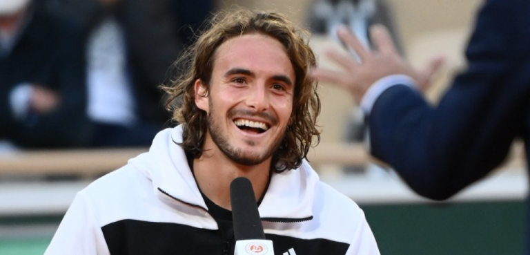 Stefanos Tsitsipas revela que faltaba a clases para ver Roland Garros