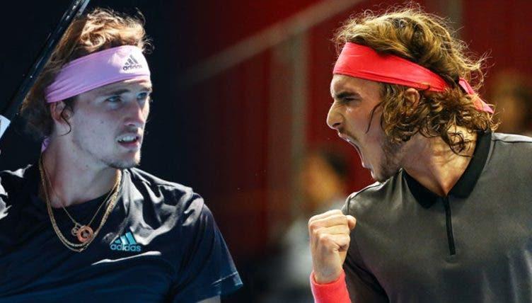 Tsitsipas y Zverev, antiguos campeones, clasificaron para las ATP Finals